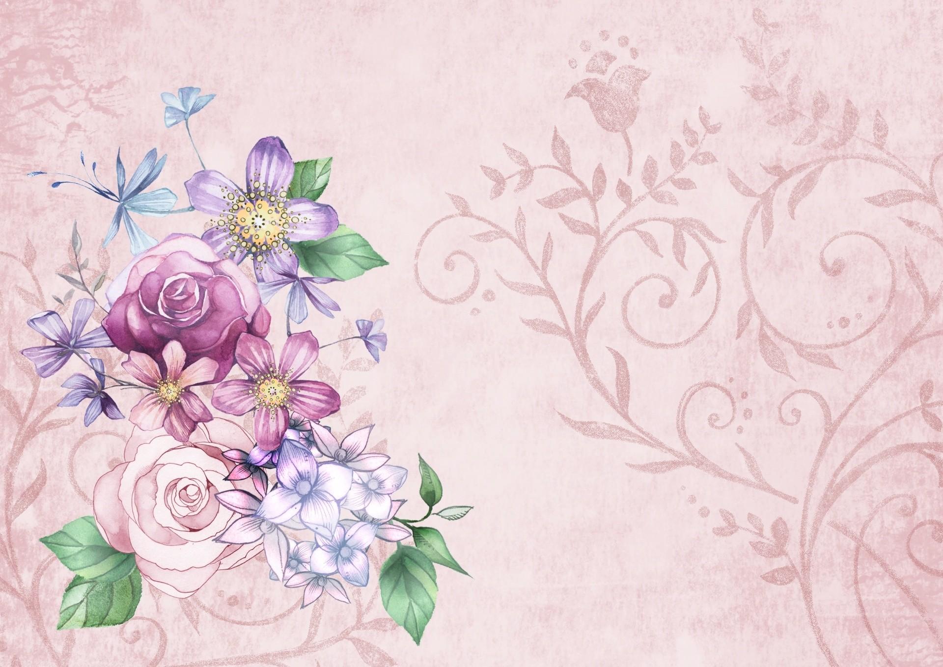 Vintage Floral background ·① Download free cool full HD ...