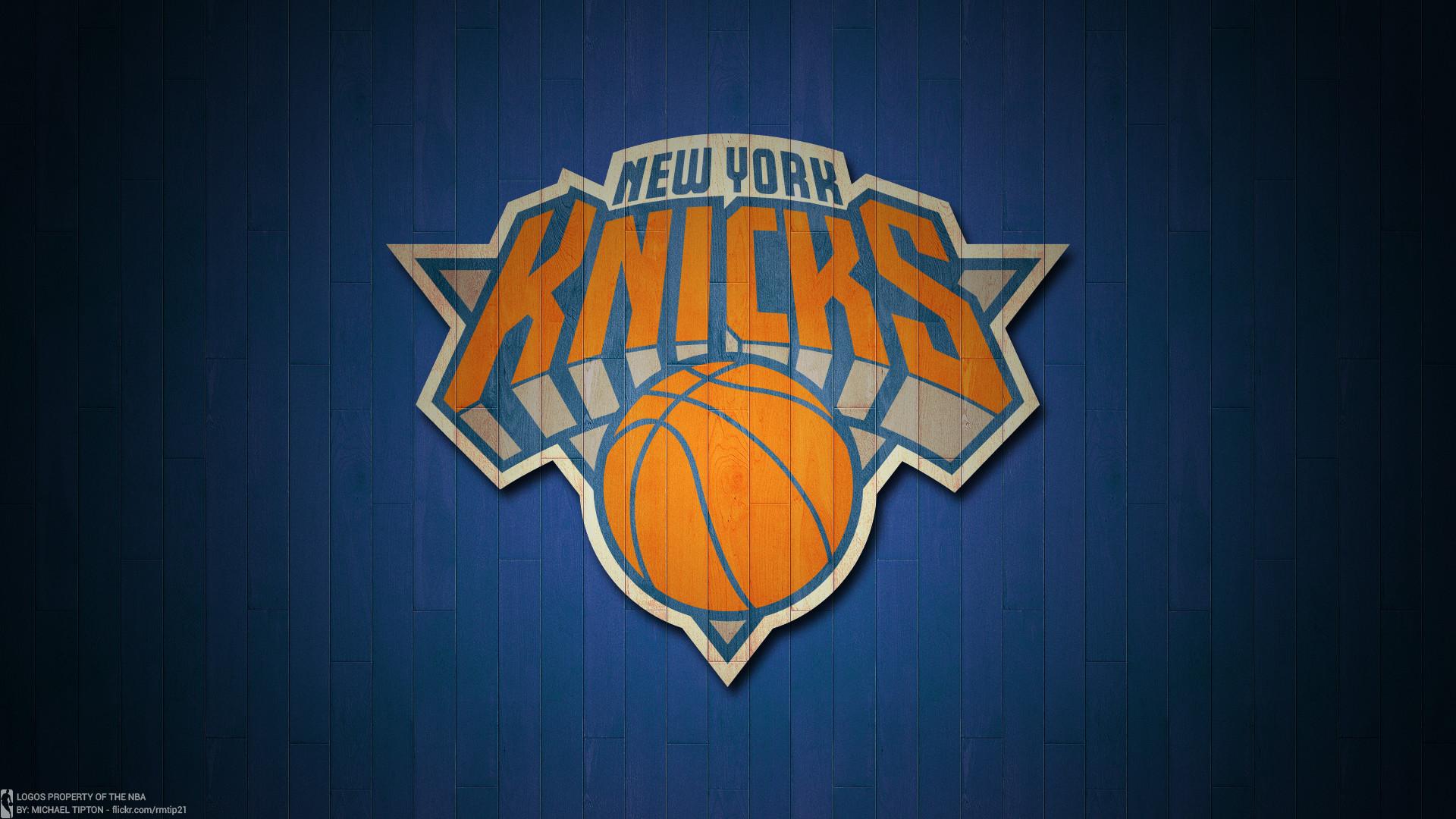 Knicks wallpaper 1920x1080 nba 2017 new york knicks hardwood logo desktop wallpaper voltagebd Image collections