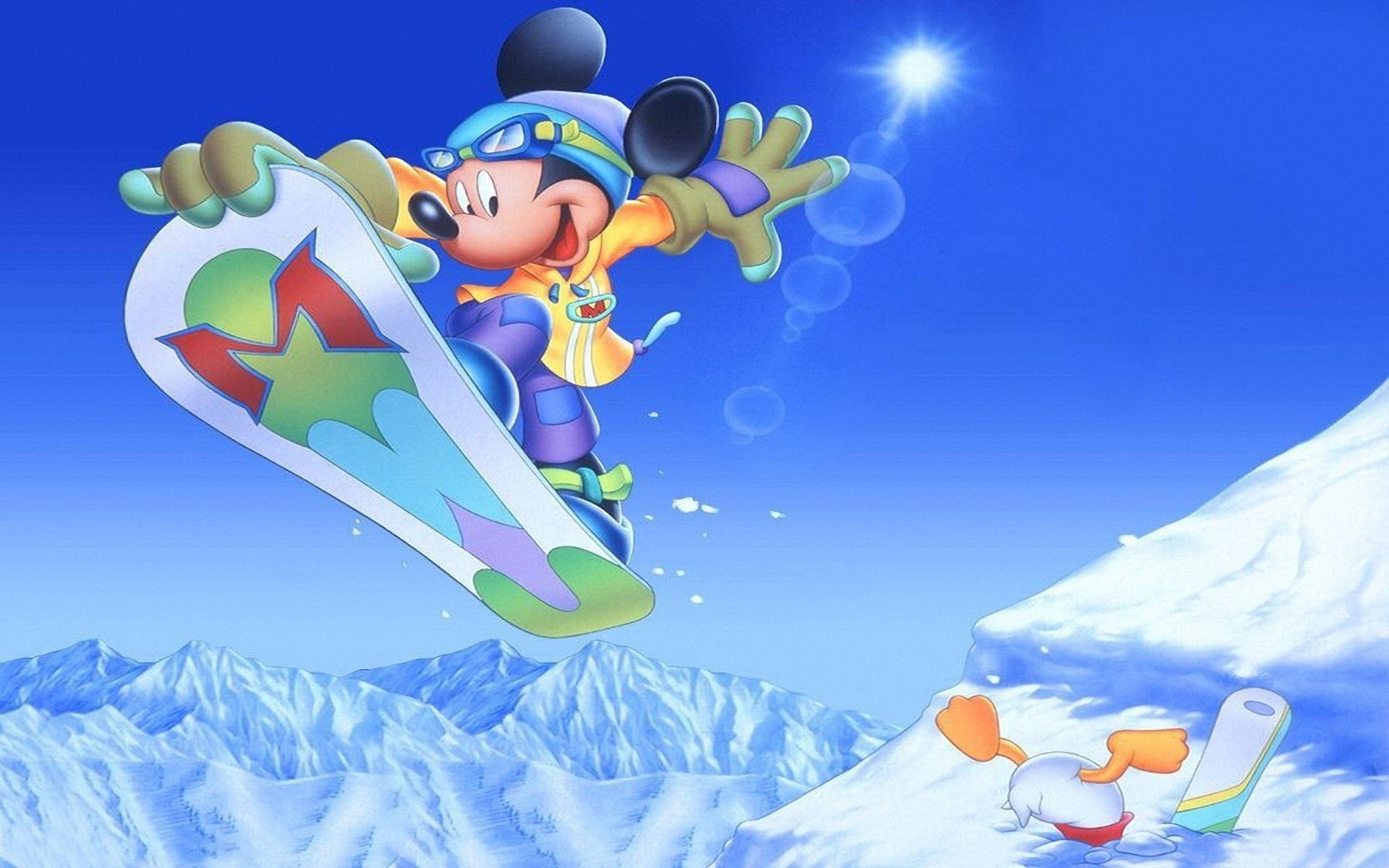 Mickey Mouse background ·① Download free wallpapers for ...