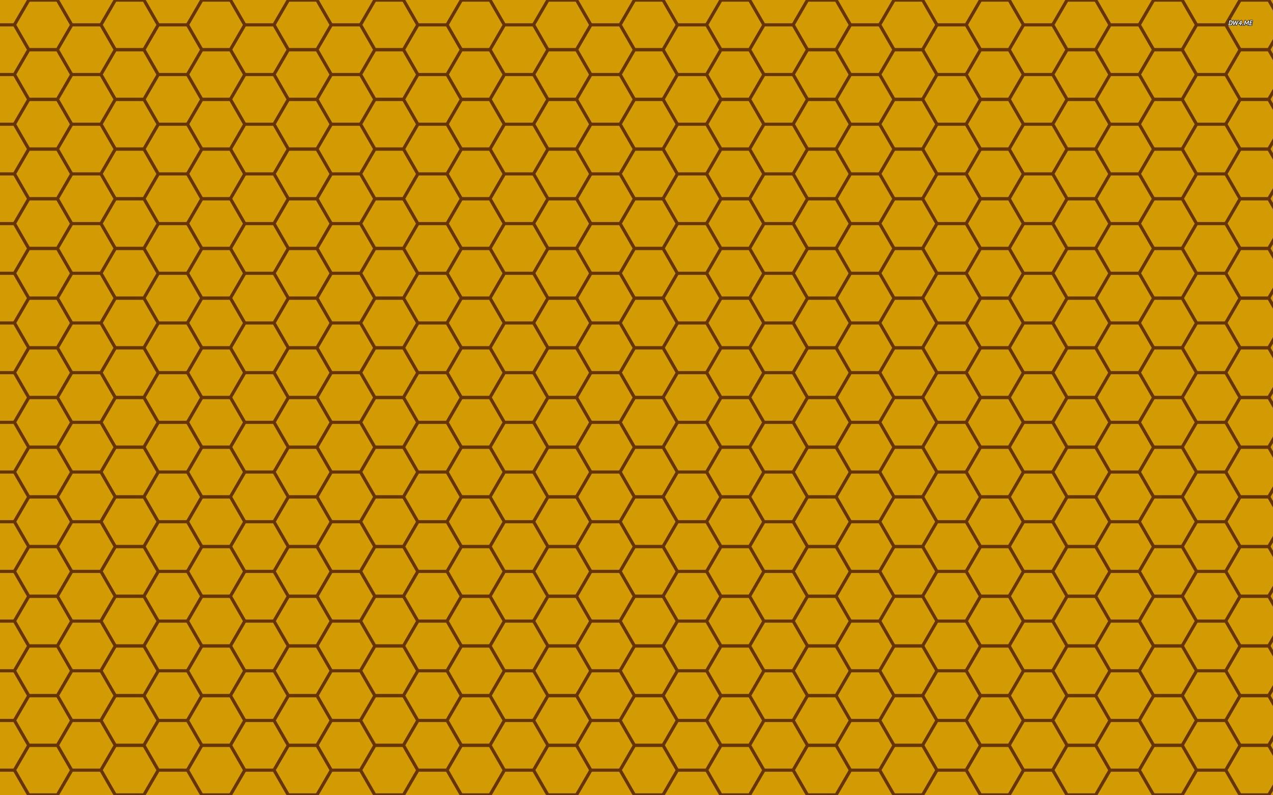 15 Colorful hues Hexagon Honeycomb Background Printables! |Yellow Honeycomb Wallpaper