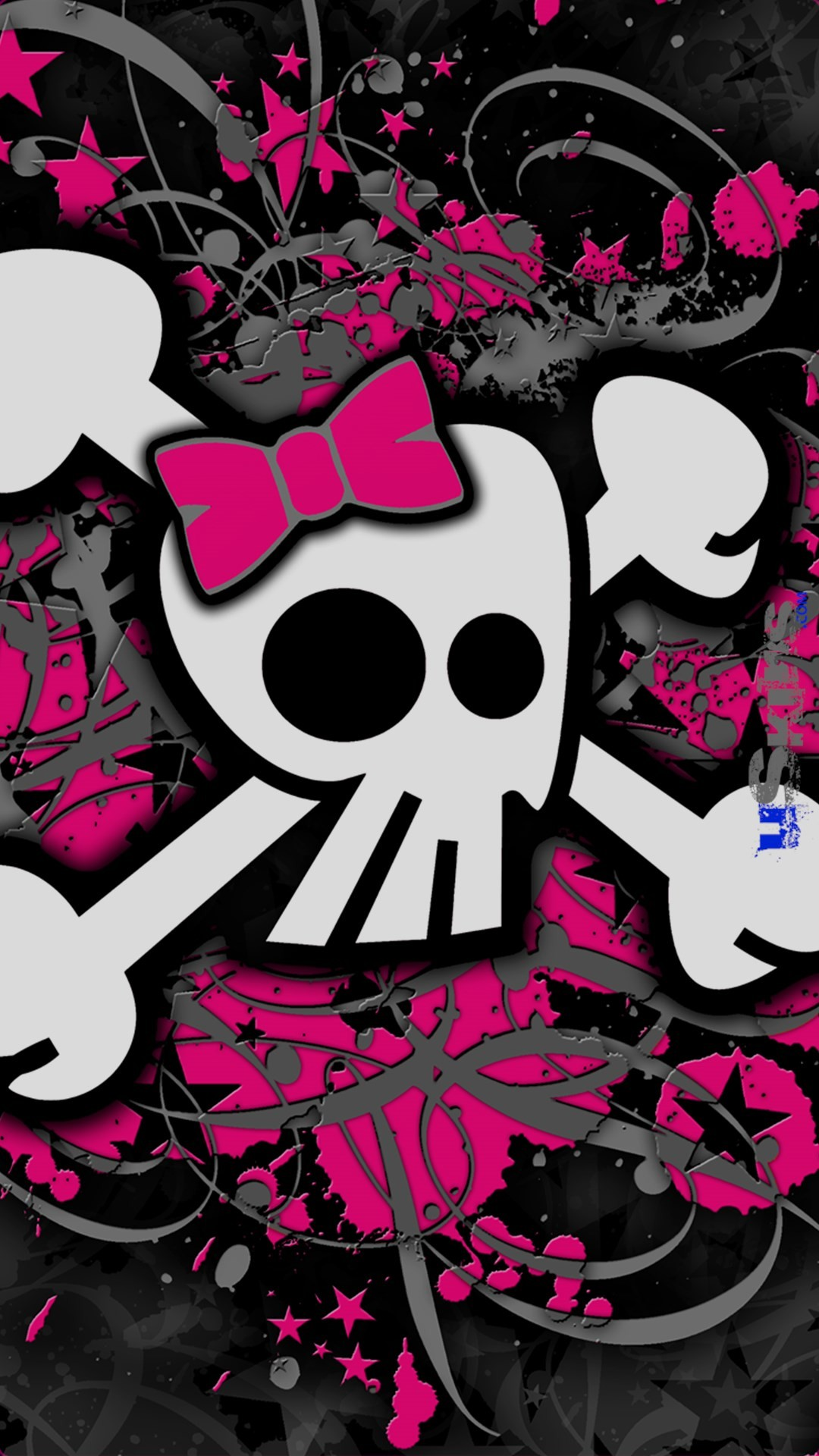Cute Skull Wallpaper Wallpapertag