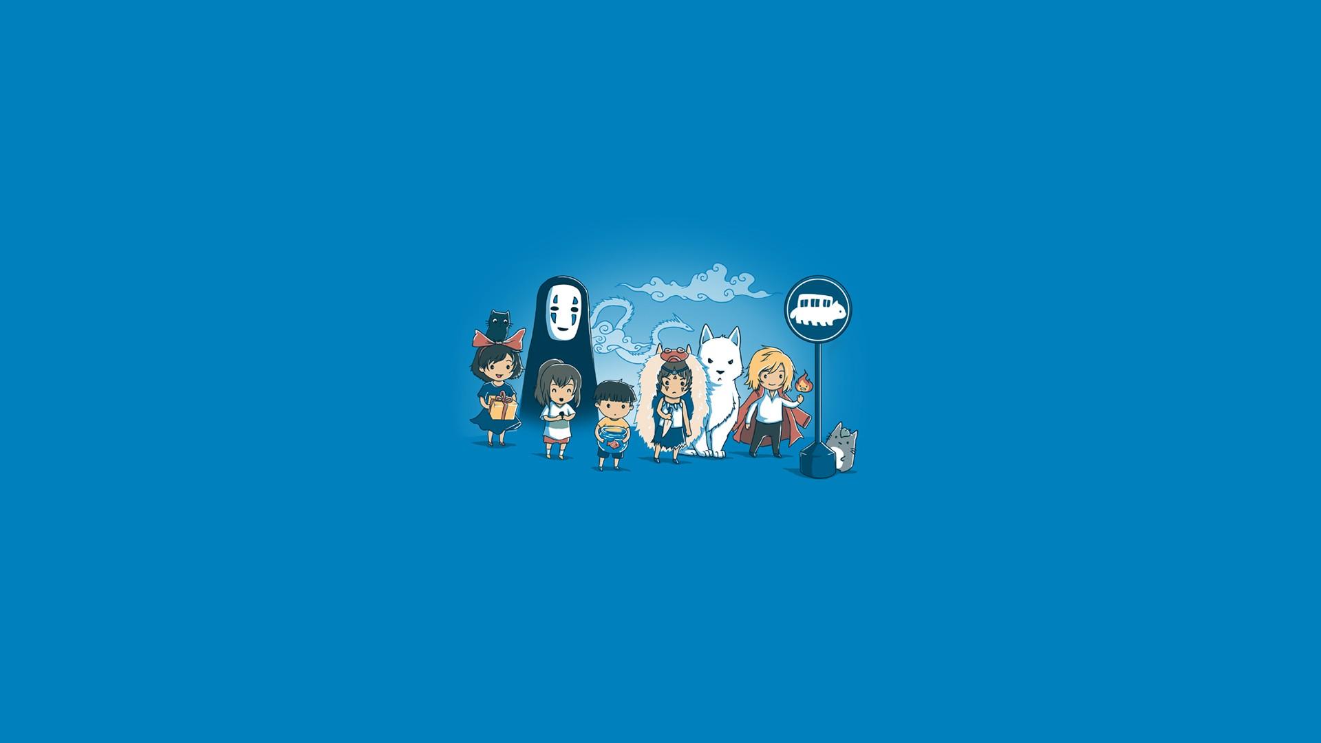 Wallpaper Ghibli My Neighbor Totoro Anime Iphone 6 Studio
