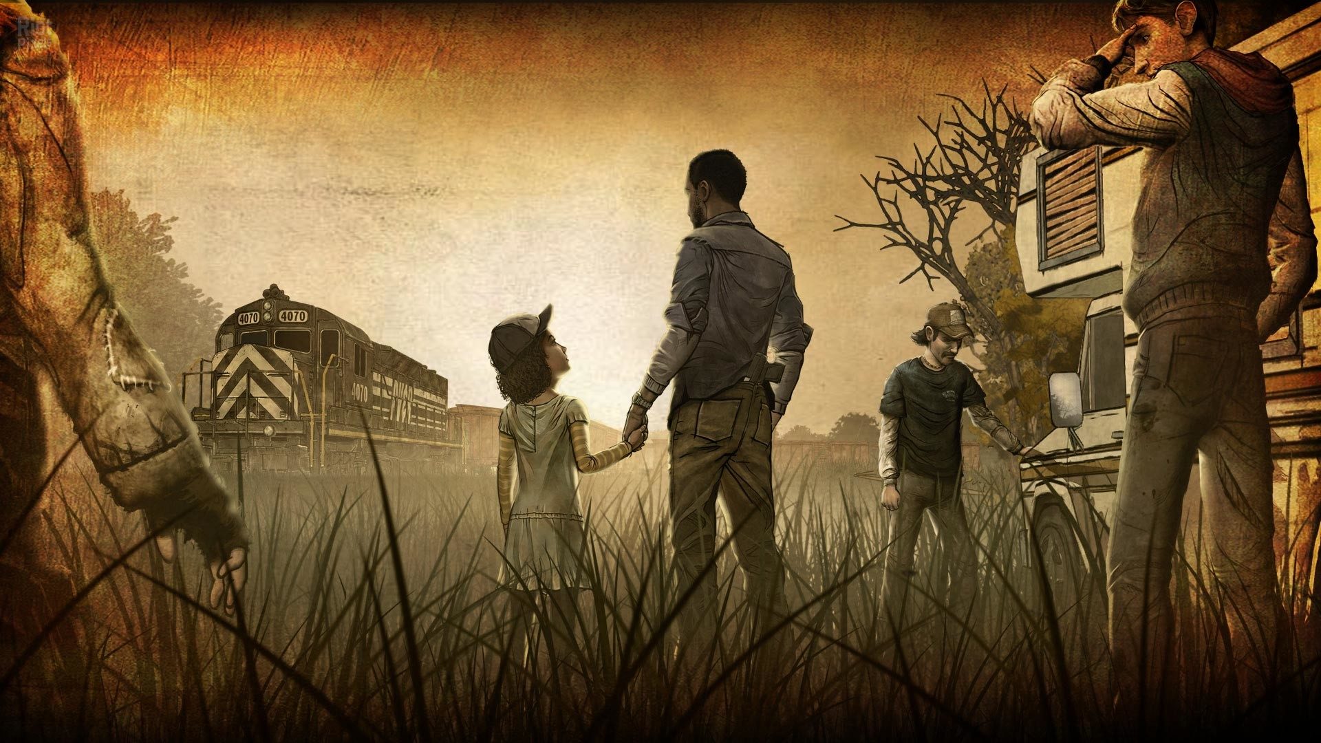 The Walking Dead Game Wallpaper Wallpapertag