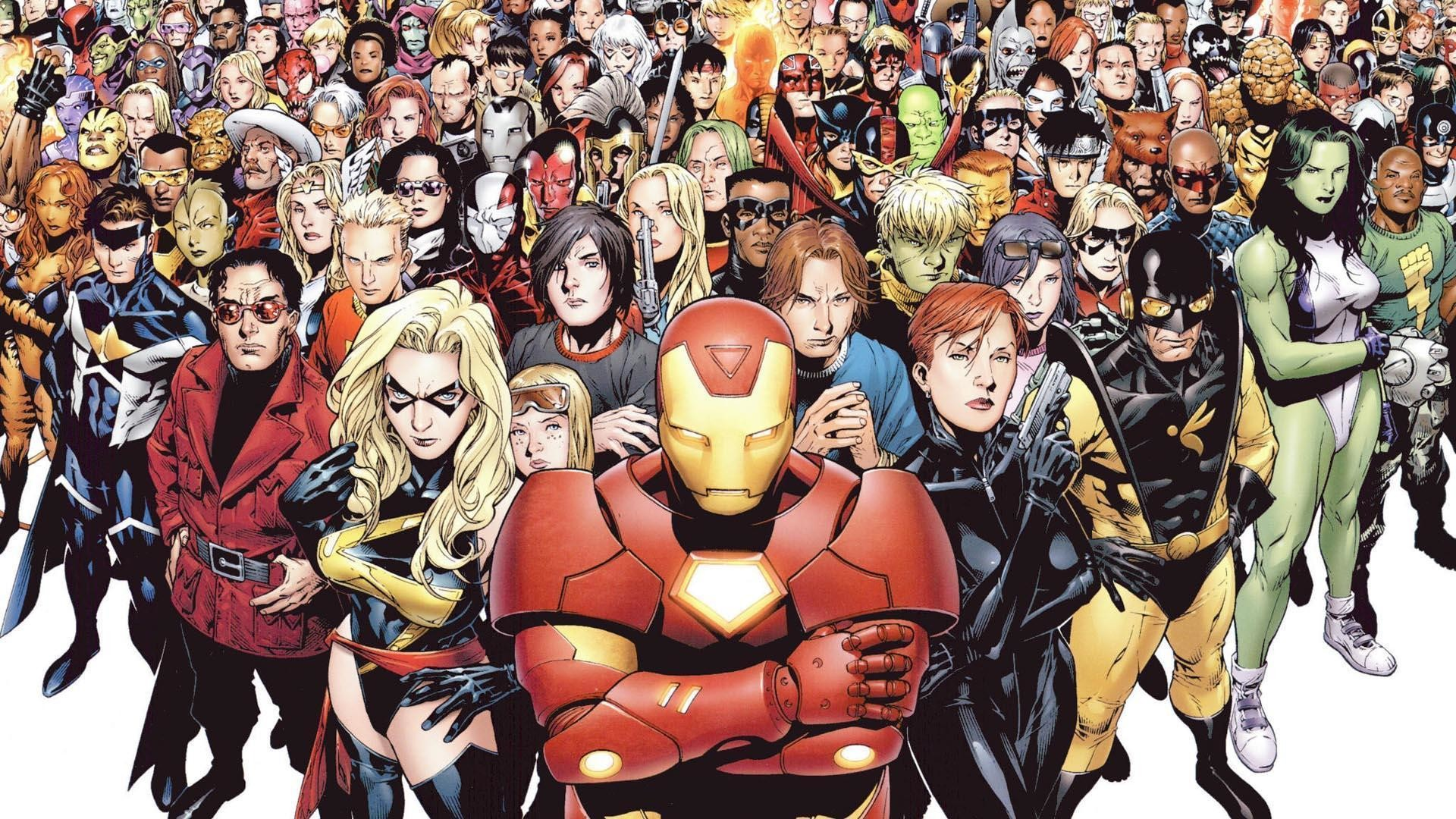 Marvel Universe Wallpaper 1