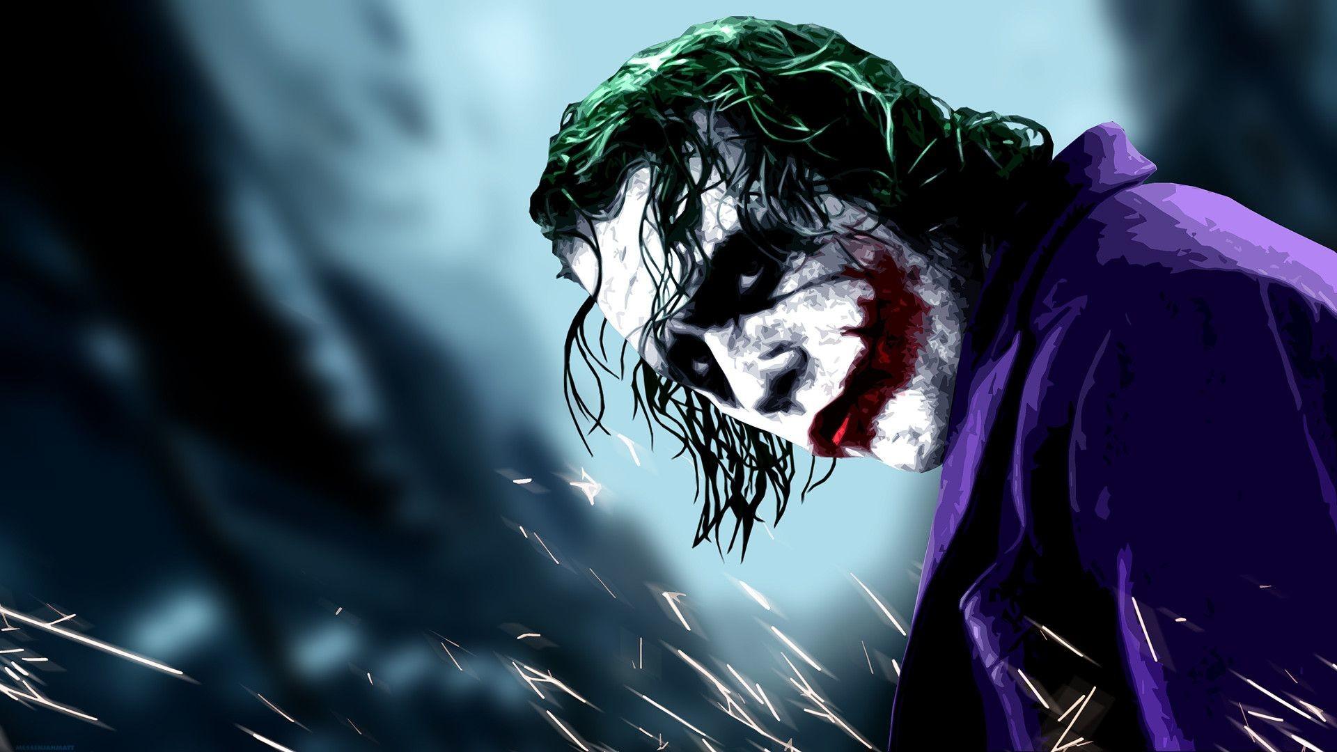 Heath Ledger Joker Wallpaper 1