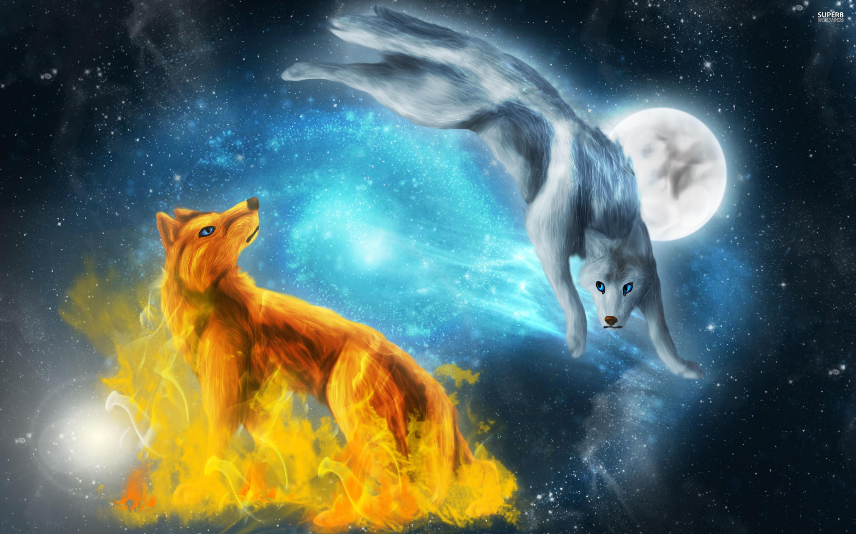 Anime Wolf Wallpaper Wallpapertag