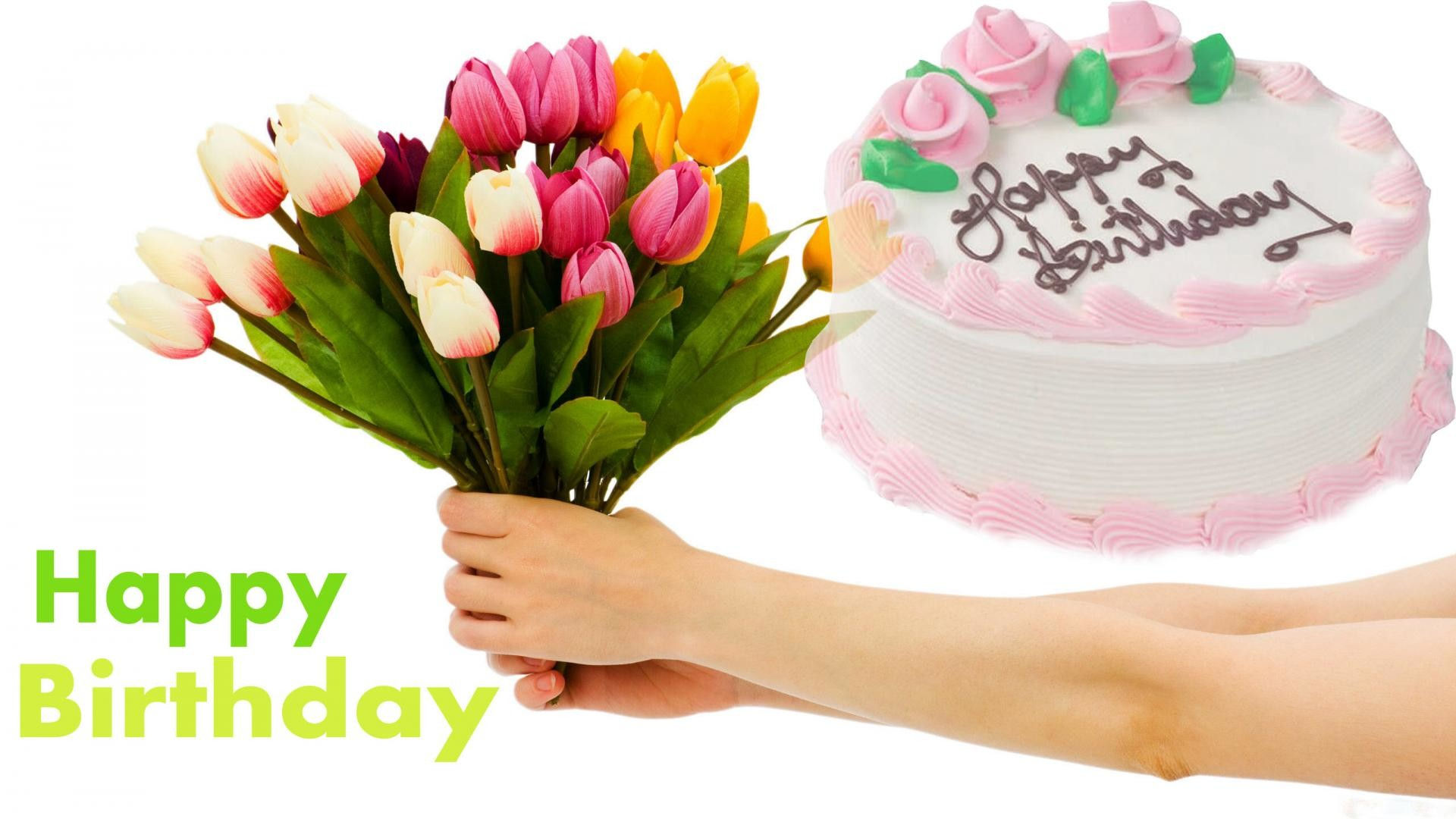 1920x1080 Happy Birthday Cake With Name Edit Online Free Awesome Party Ideas
