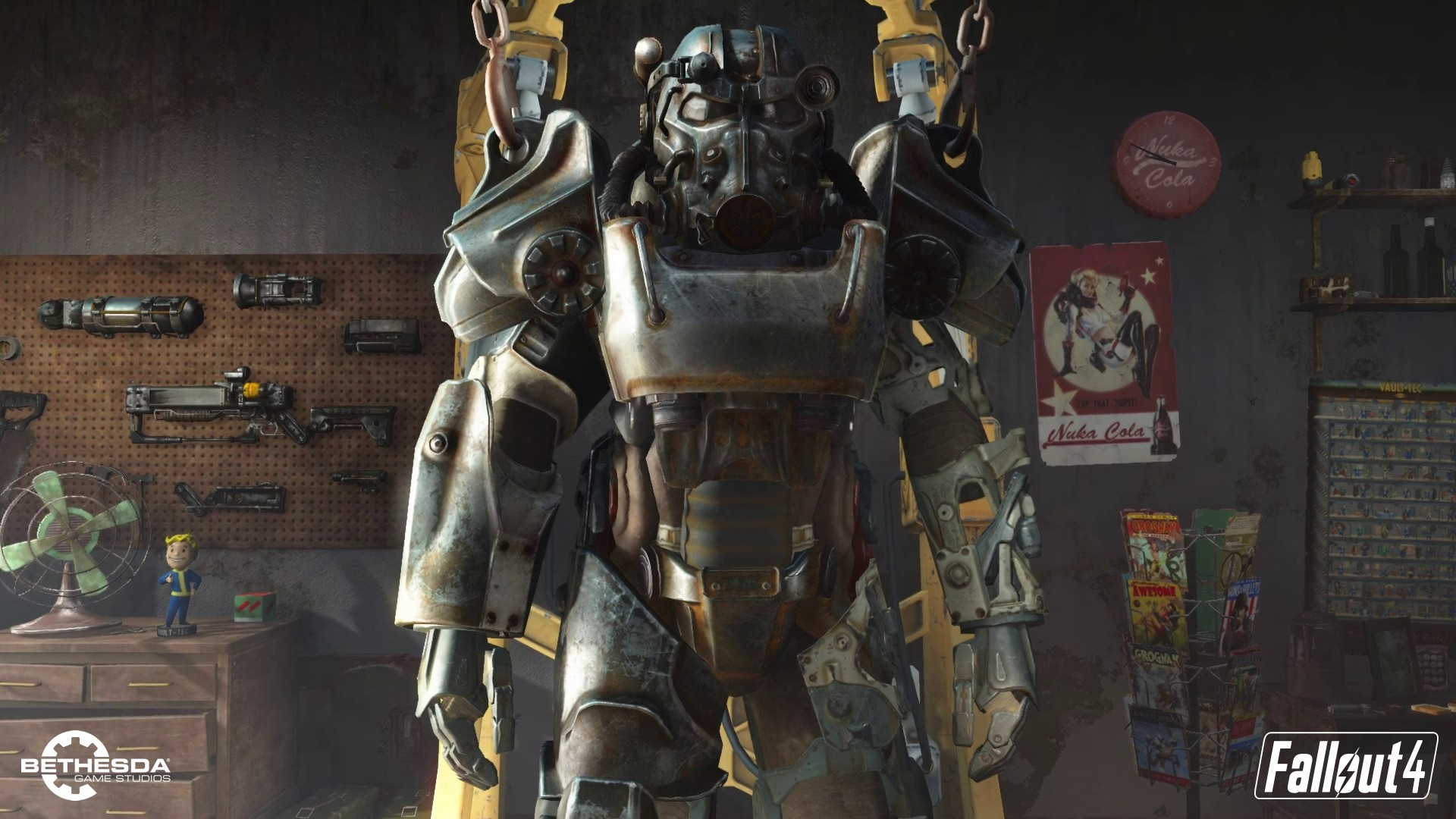 Fallout 4 Power Armor Wallpaper Download Free Cool High