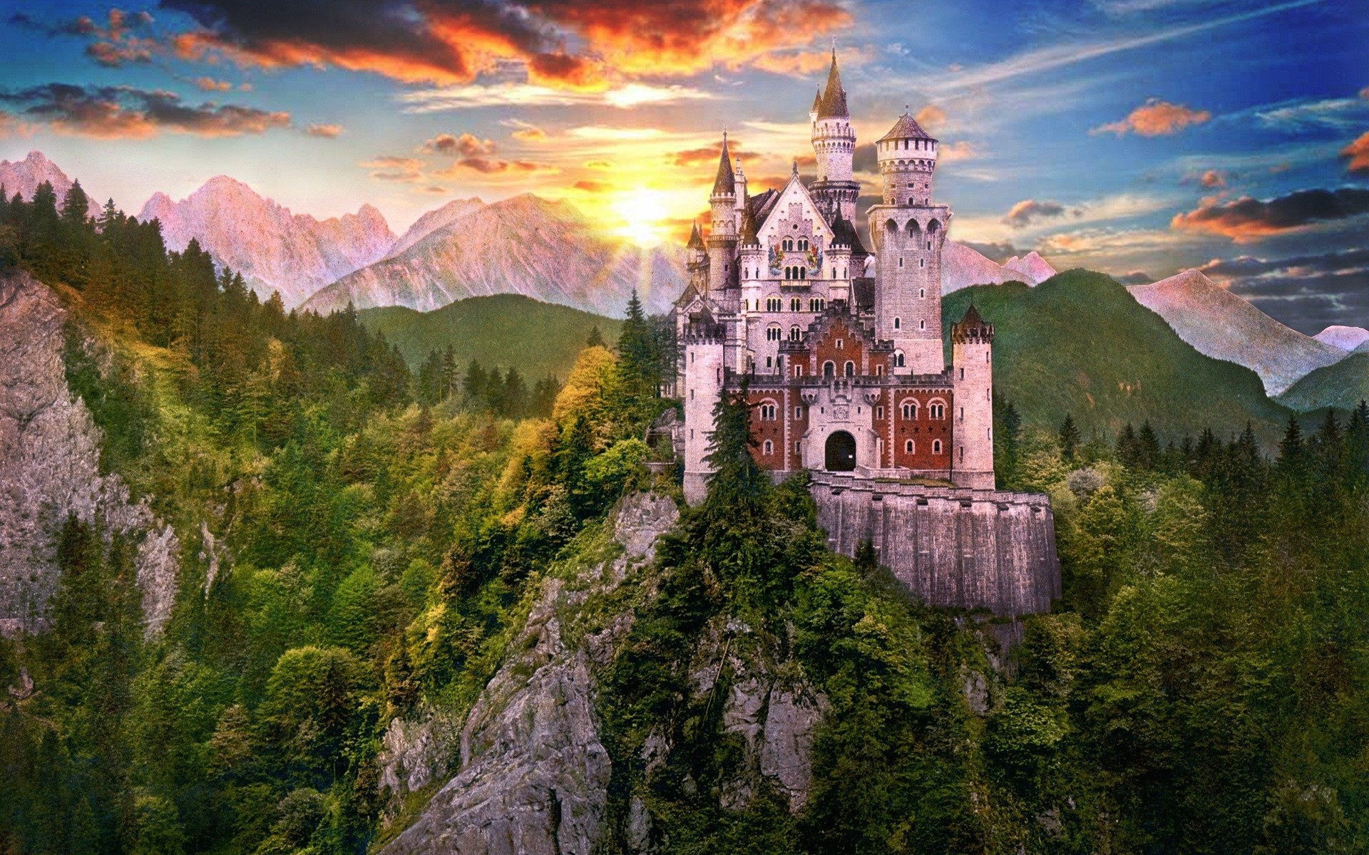 Fantasy Castle HD Wallpaper #10766