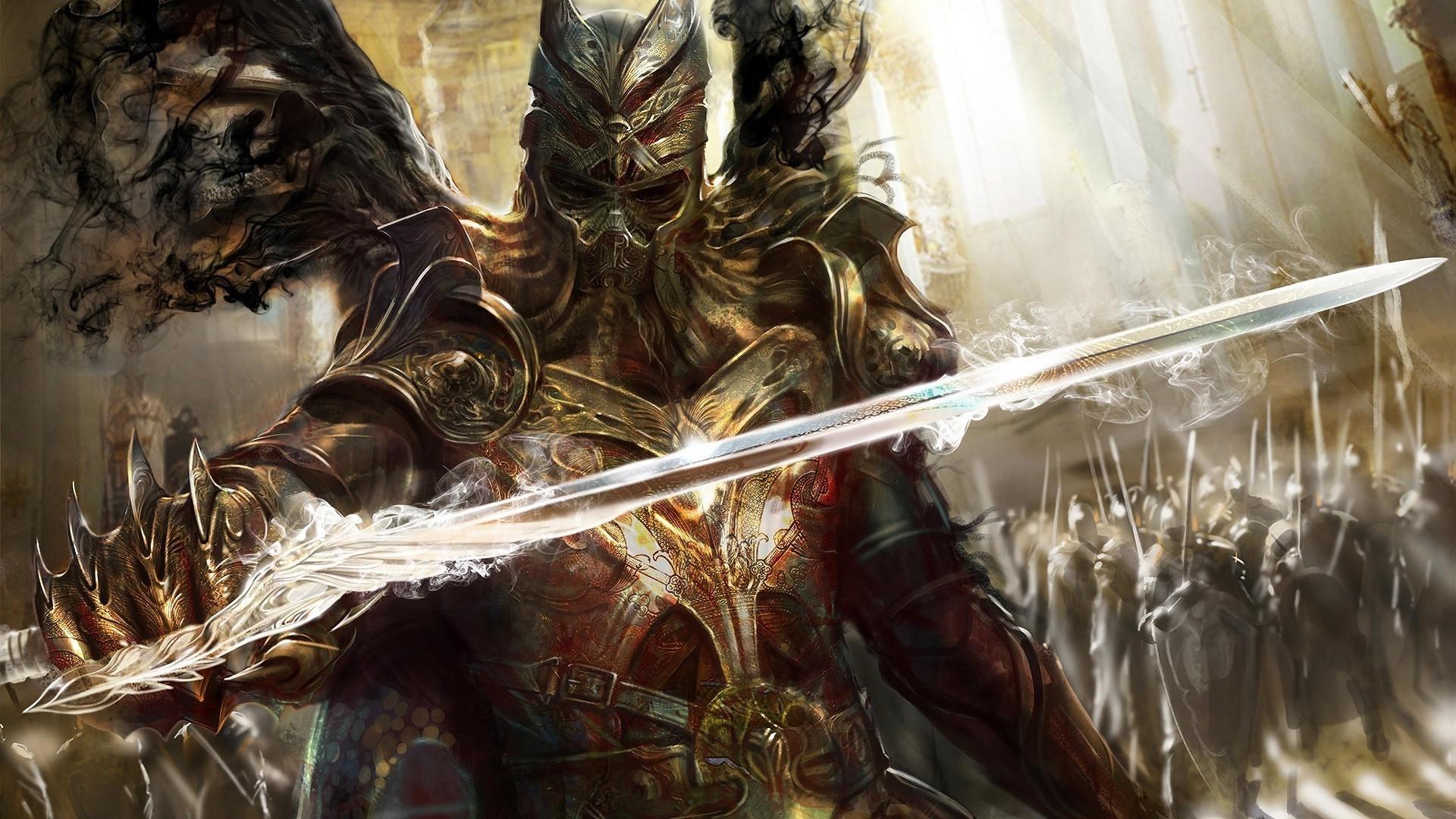 Fantasy Knight Wallpaper Wallpapertag