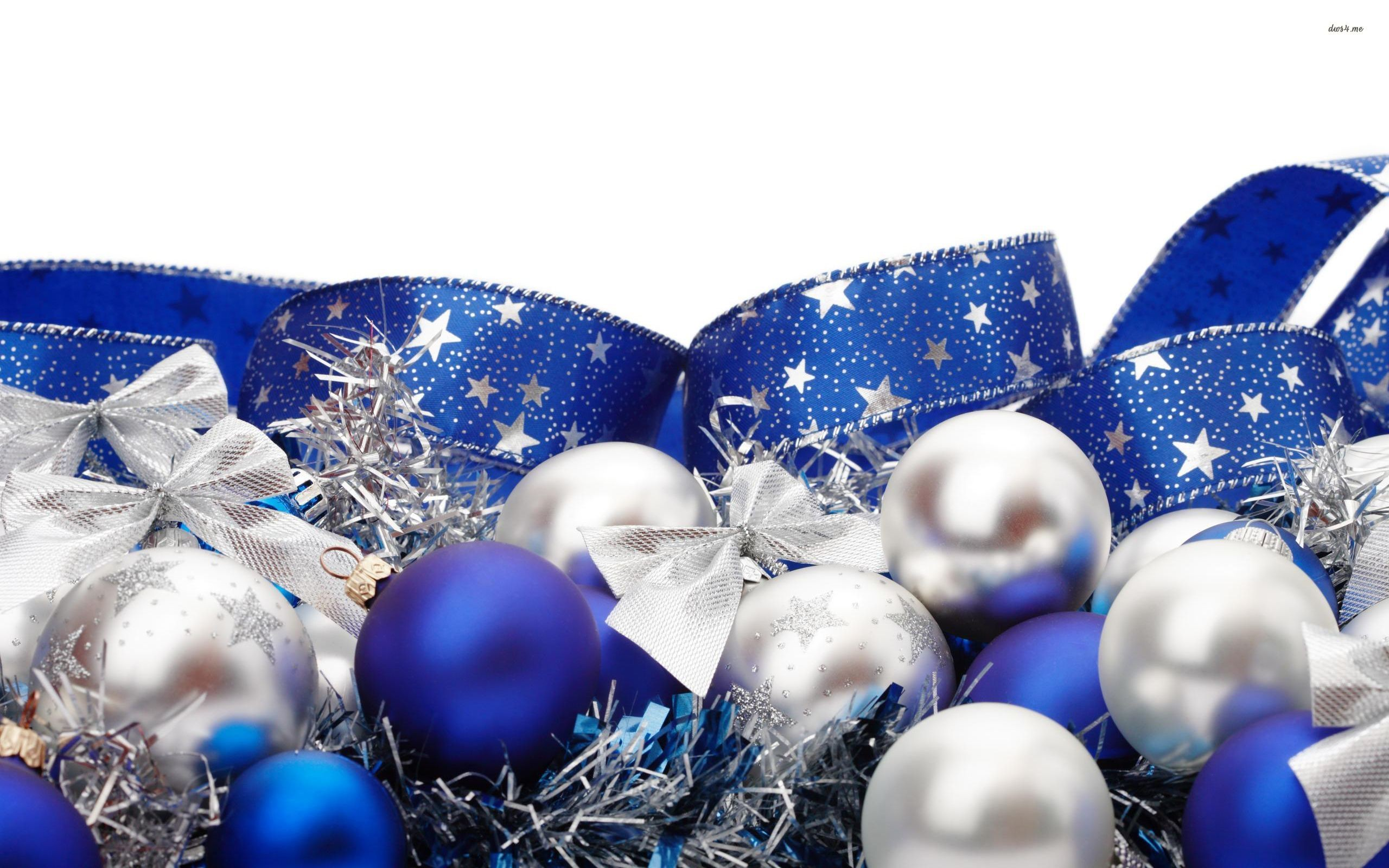 2560x1600 Blue And Silver Christmas Background 16 Download Snow