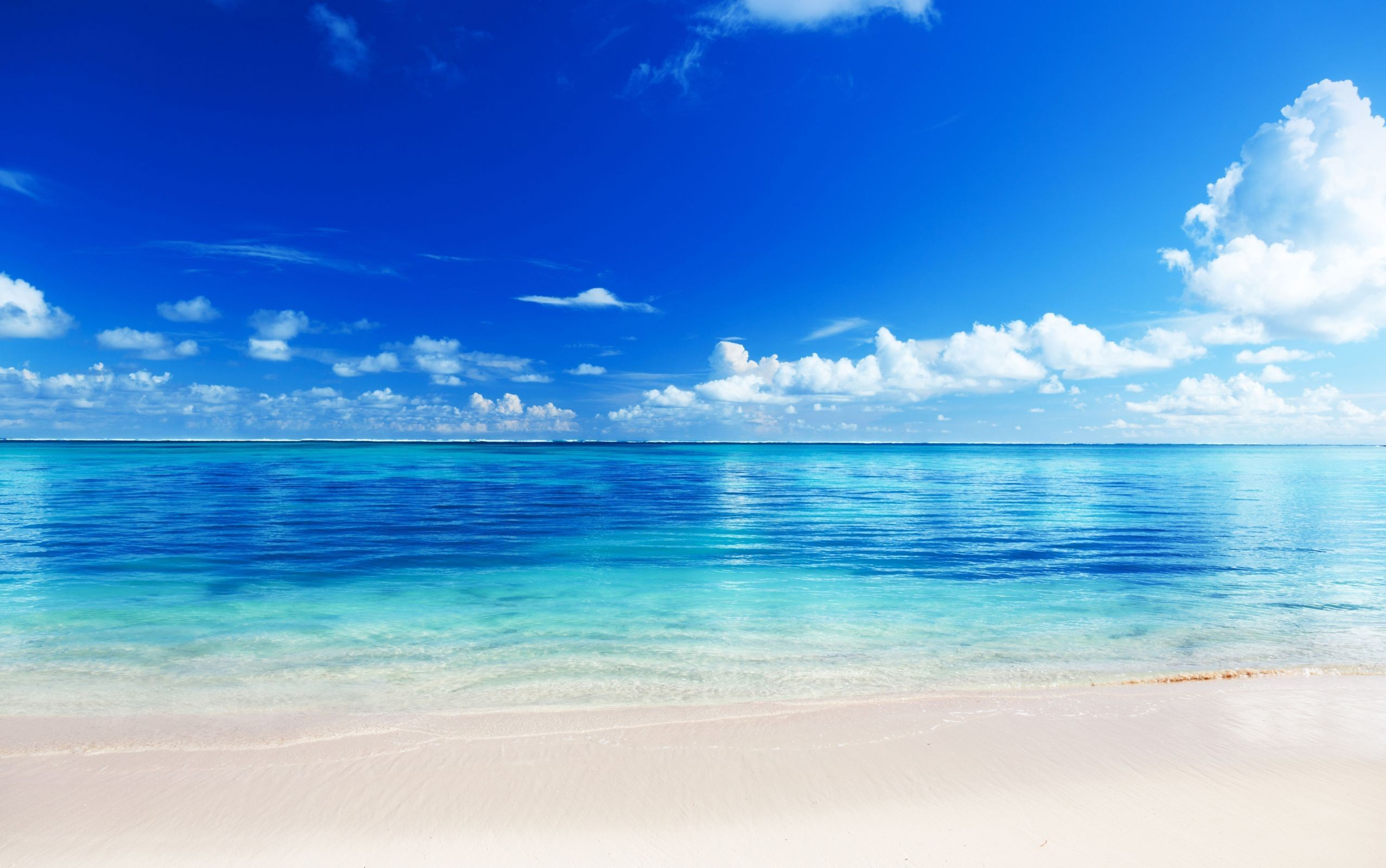 Beach Background ① Free Beautiful High Resolution