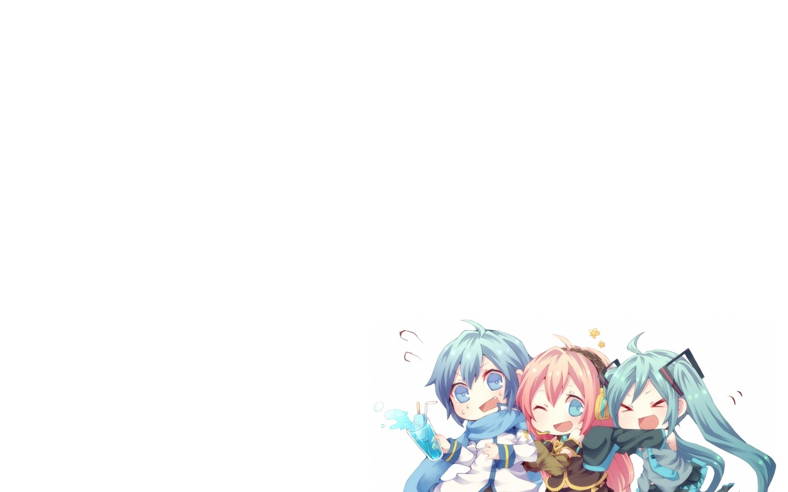 Vocaloid Chibi Wallpaper