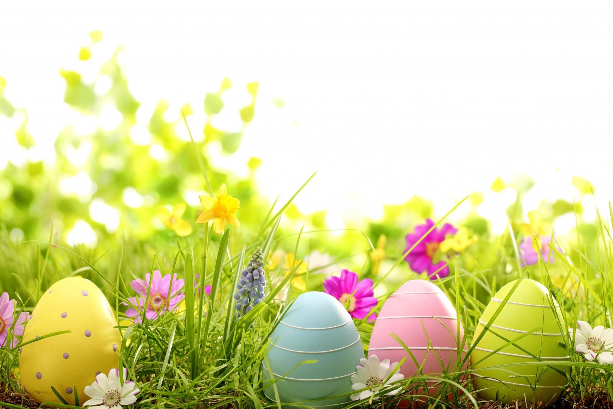 Easter Computer Wallpaper ·①