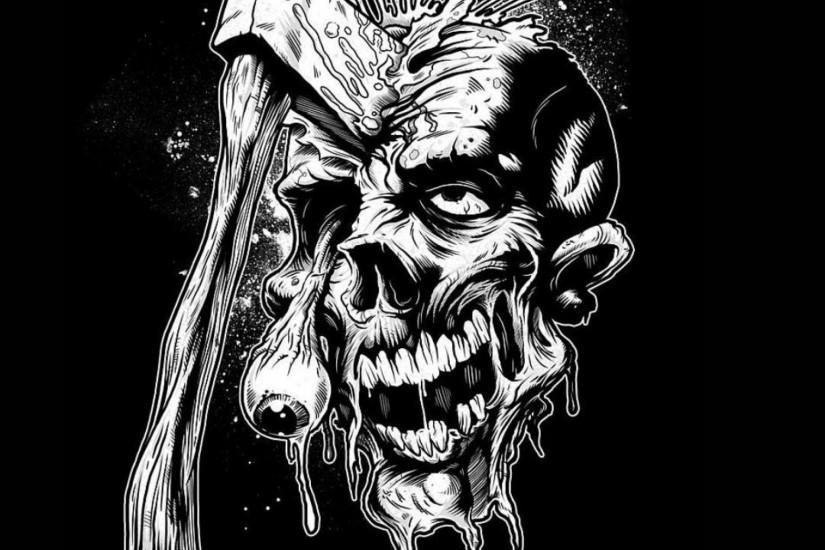 cool zombie wallpaper 2048x2048 high resolution