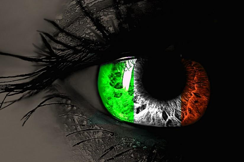 amazing-irish-flag-in-eyes-hd-wallpaper-for-desktop-background-download- irish-flag-images