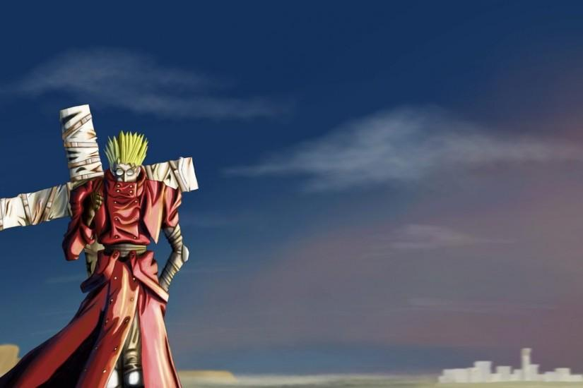 Vash The Stampede Wallpaper - WallpaperSafari