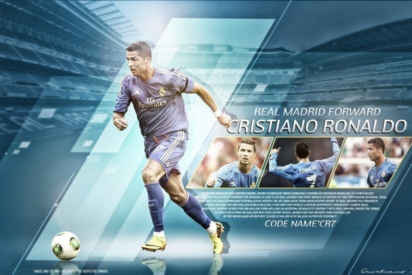 Wallpaper: Real Madrid Forward – CR7
