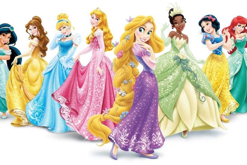 Disney Princess Palace Pets Wallpaper Theme: Disney Princesses Collection:  100% Disney licensed. Cinderella,Belle,Tiana,Jasmine,Rapunzel,Aurora,Snow  White & ...