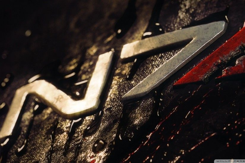 Mass Effect 3 N7 HD Wide Wallpaper for Widescreen