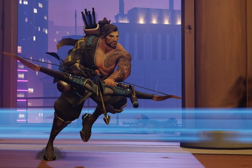 Hanzo Shimada an Archer in Action!