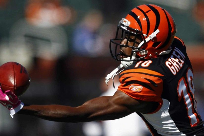 aj green catch wallpaper