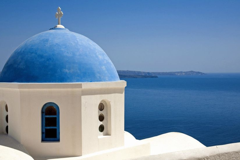 Download Background - Oia, Santorini, Greece - Free Cool .
