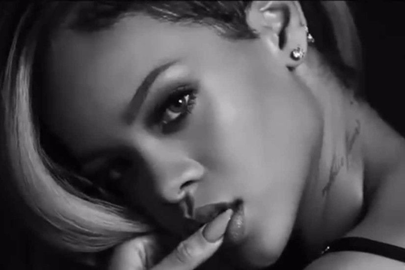 Black and White 2016 Rihanna 4K Wallpapers