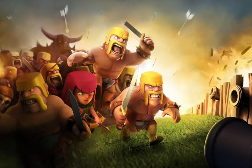 clash of clans wallpaper 3243x1536 download