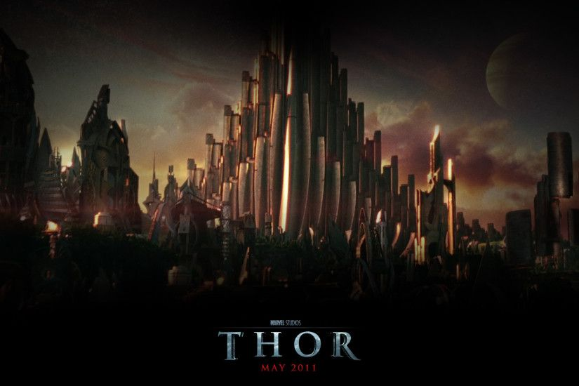 Asgard from the Movie Thor wallpaper - Click picture for high resolution HD  wallpaper