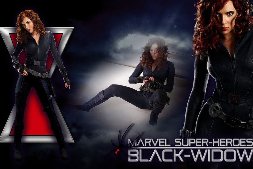 scarlett johansson wallpaper black widow avengers - Buscar con Google