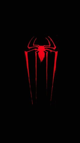 Wallpaper full hd 1080 x 1920 smartphone red spider