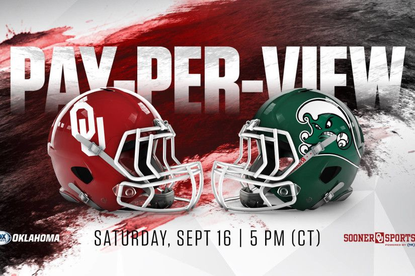 OU vs. Tulane on Pay-Per-View. stop. Athletics Communications