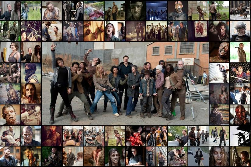 ... The Walking dead (AMC) background by AmanDaMoustache