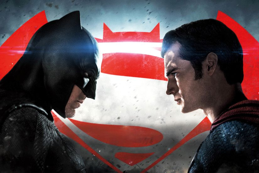 Batman v Superman: Dawn of Justice - Red Logo 2880x1800 wallpaper