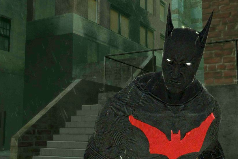 BATMAN BEYOND by Azlaar on DeviantArt Black Batman Wallpapers Group (82 )  ...