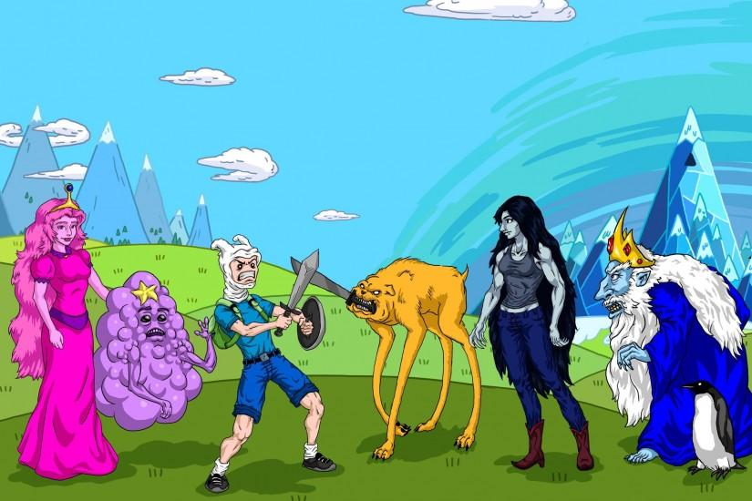 adventure time wallpaper 2500x1607 windows 10