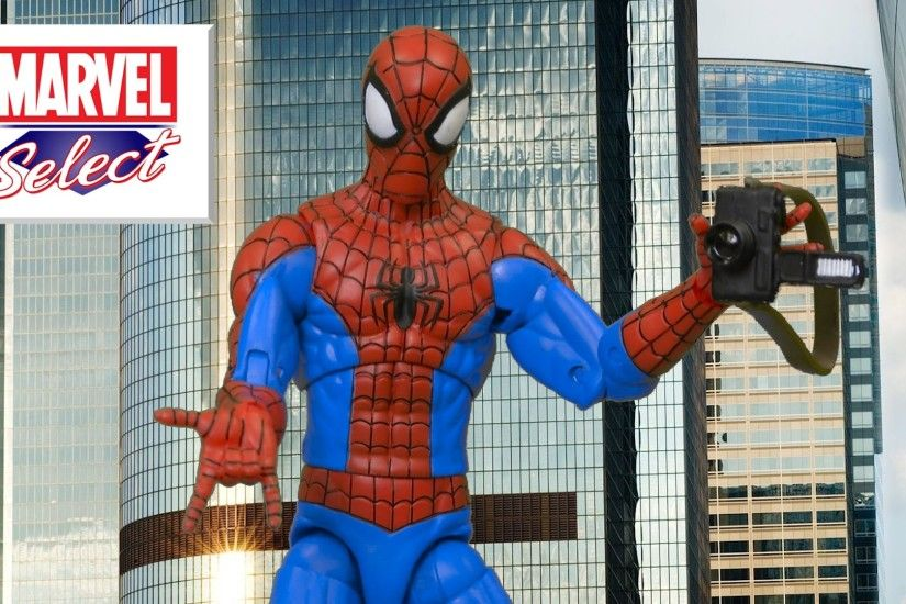 Marvel Select Spectacular Spider-Man from The Disney Store