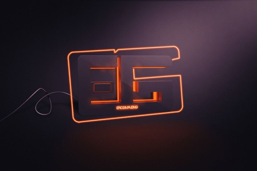 PC Gaming, Neon Light, Wires, Typography, Creative Design, Render, Digital  · typo ...