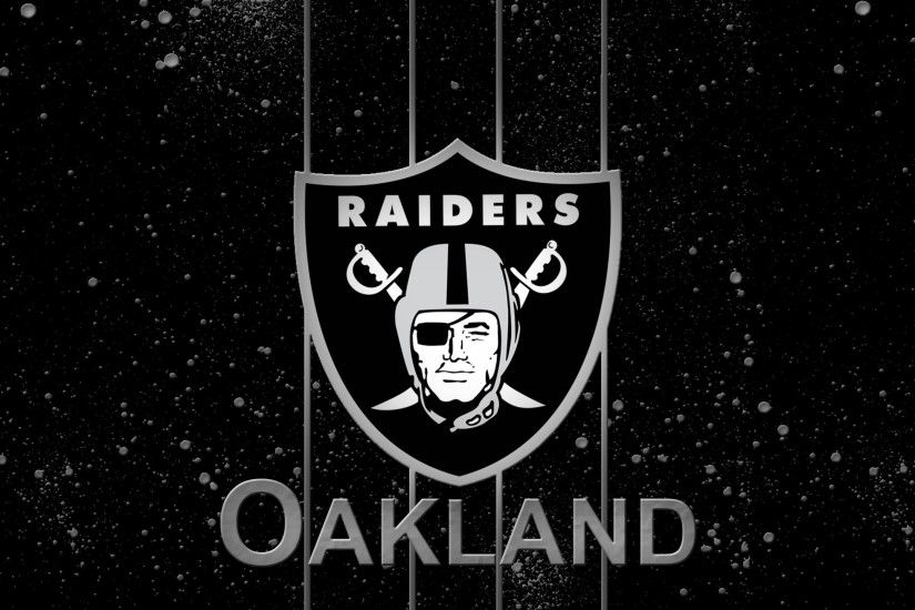 Oakland Raiders Logo Wallpaper 2560×1440