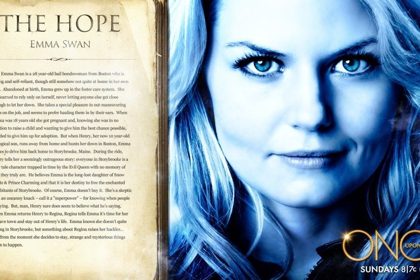 Others Once Upon A Time Season 1 Emma Swan The Hope Wallpaper 1920x1080 Once  Upon a