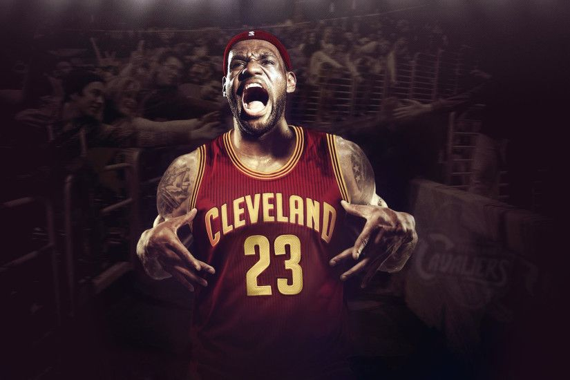 Lebron james cleveland cavaliers wallpaper hd resolution.
