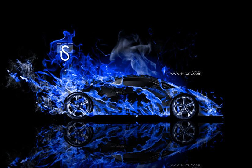 Black And Blue Lamborghini Wallpaper 1 Free Hd Wallpaper