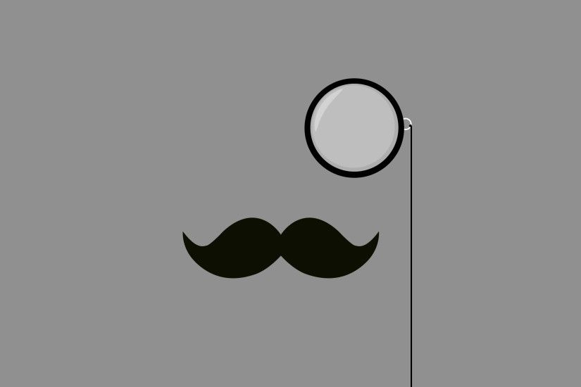 Mustache Wallpaper in HQ Resolution
