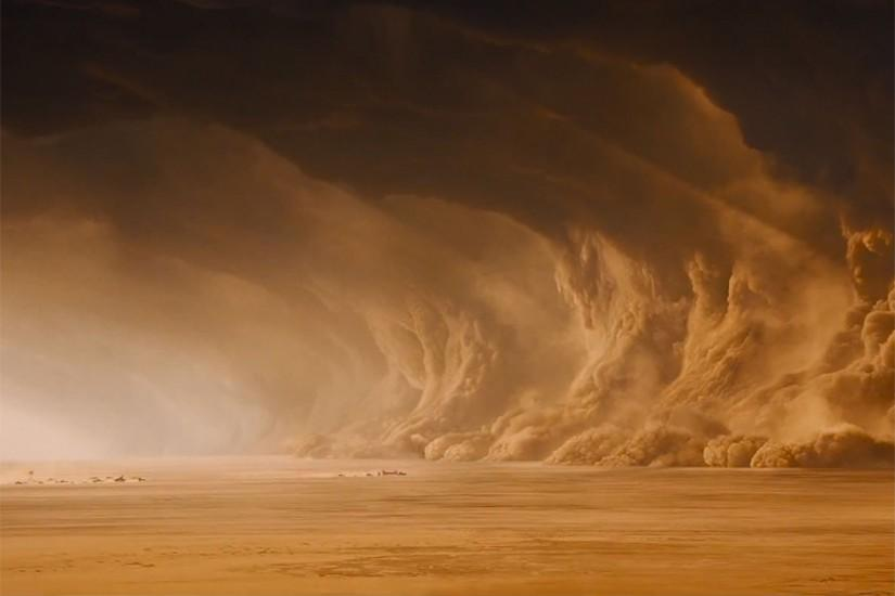 Mad Max Fury Road Sandstorm Wallpaper