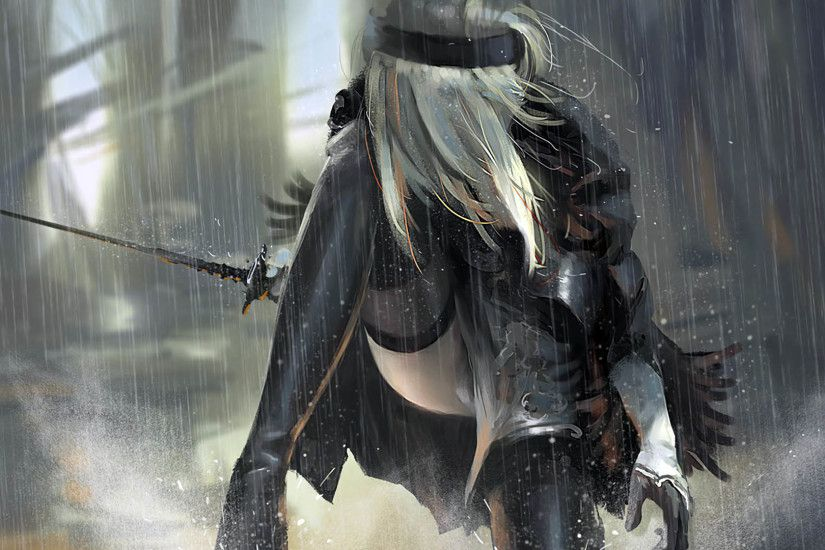 2B Nier Automata 1920x1080 wallpaper