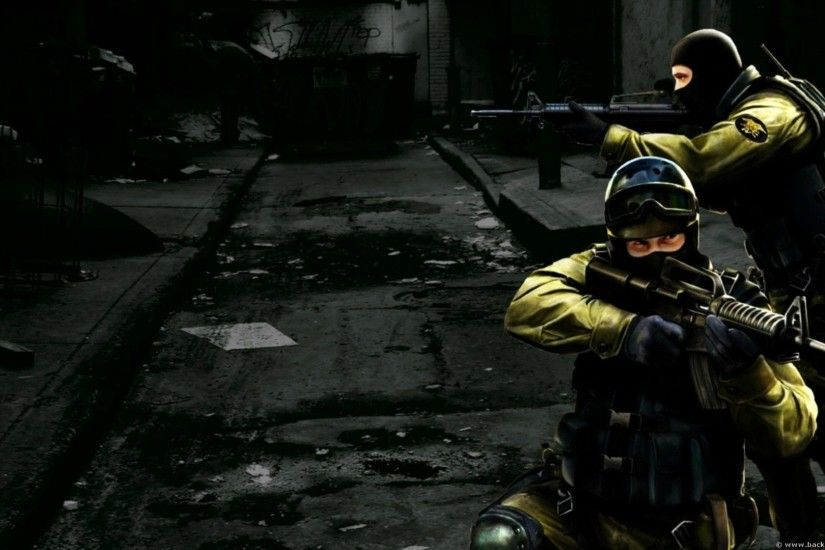 While Playing Counter Strike 1.6 HD Wallpaper [1920x1080]