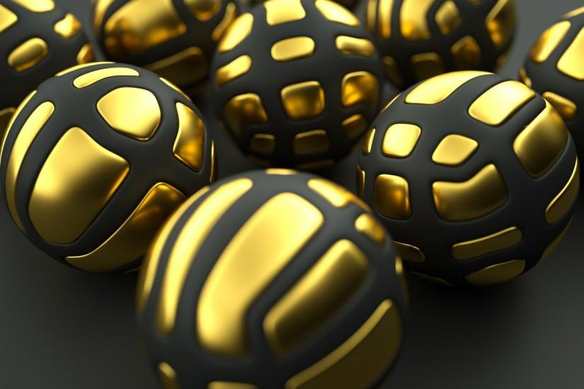 Black and gold wallpaper download free cool full hd for Gold 3d wallpaper