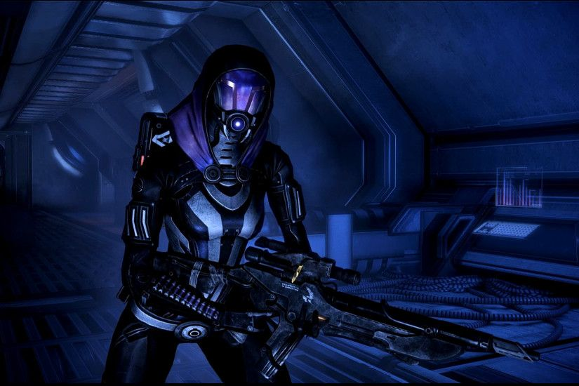 ... Mass Effect 3 Tali Dreamscene by droot1986
