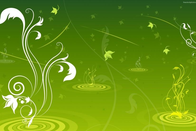 free vector green background